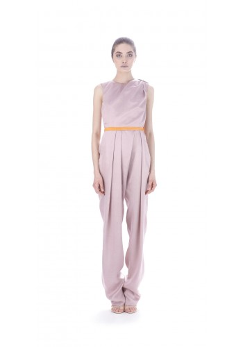 Long draped overall